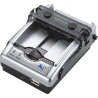 ACCCH010719 Chargeur Universel 4 en 1 pour batteries gsm, pdaAPNMP3 ACCCH010719 ACC+